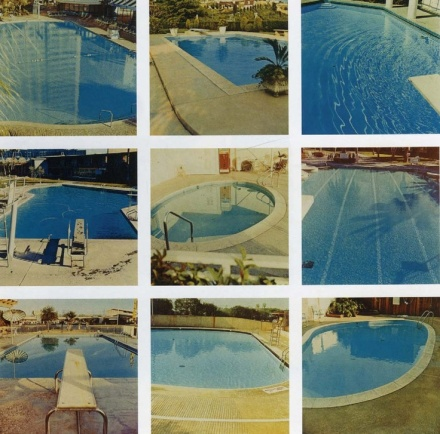 Ed Rushca Nine Swimming Pools 1968